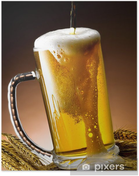 Plakát Birra - Alkohol