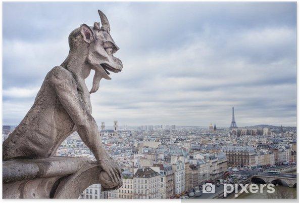 Plakat Blick auf Notre Dame w Paryżu ceny - Tematy