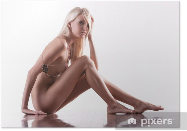 Plakát Blonde fashion model - Témata