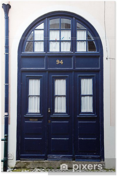 Plakát Blu dveří - Prázdniny