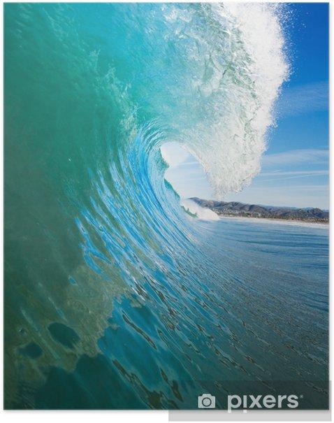 Plakát Blue Ocean Wave - Témata