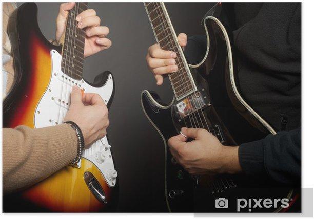 Plakát Blues rocku vs. - Témata