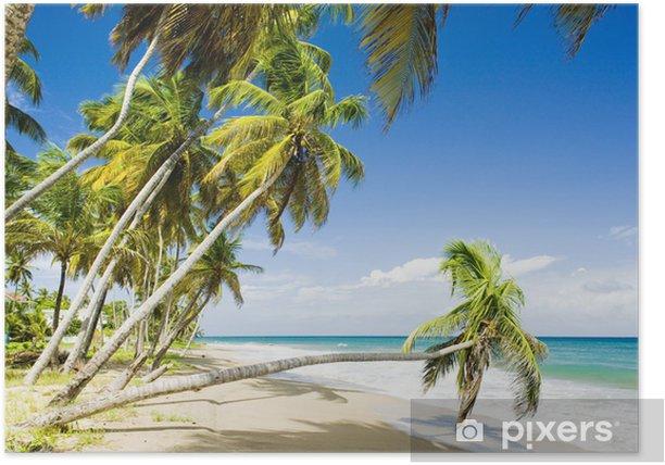 Plakat Bluzy Bay, Grenada - Ameryka