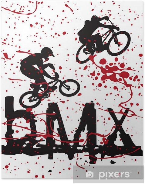 Plakat BMX - Kolarstwo