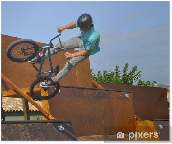 Plakat BMX - Sporty ekstremalne