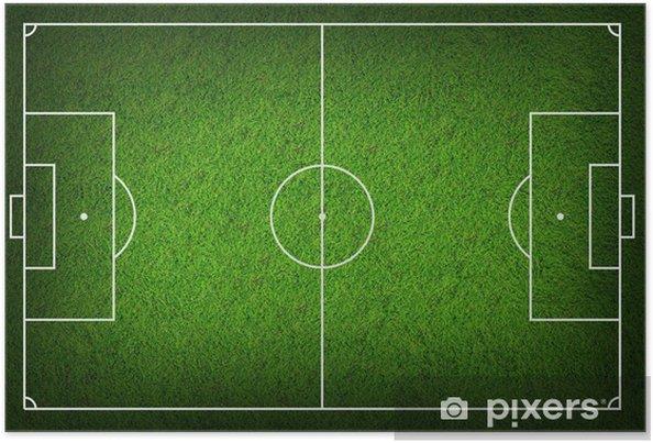 Plakat Boisko do piłki nożnej - Sport
