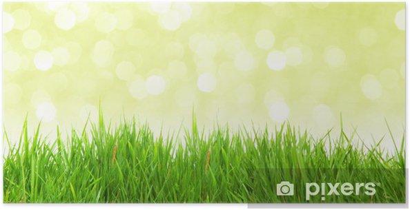 Plakat Bokeh Panorama - Pory roku