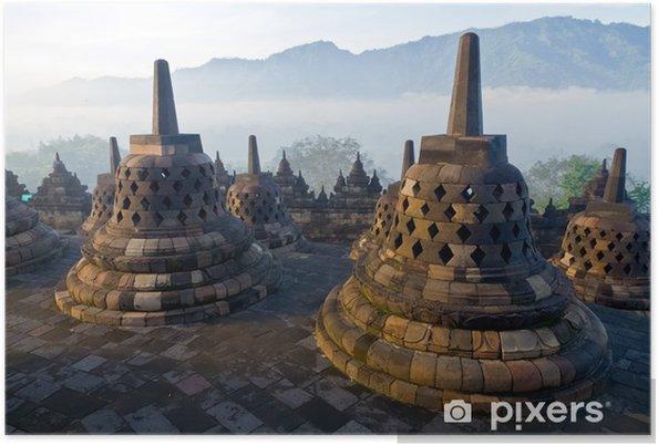 Plakát Borobudur Temple - Asie