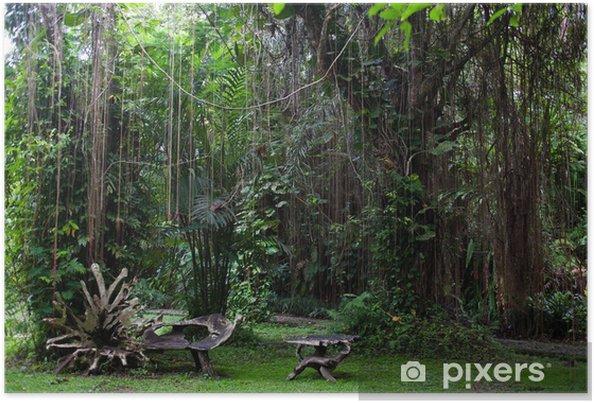 Plakát Botanická zahrada na Bali - Prázdniny