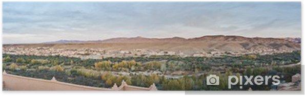 Plakát Boulmalne Dades údolí v Maroku - Afrika