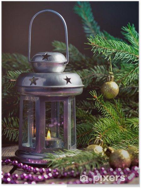 Plakat Boże Narodzenie Dekoracje
