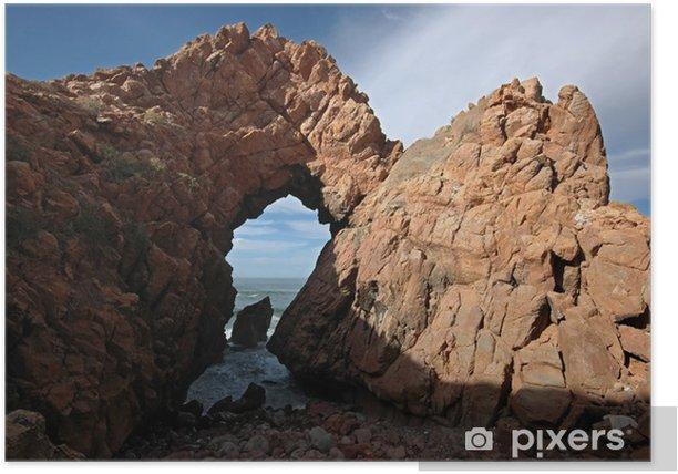 Plakát Brána k oceánu. Pobřeží Atlantiku. Maroko. - Příroda a divočina
