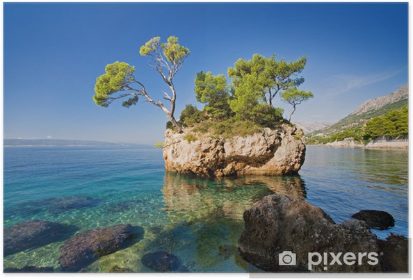 Plakat Brela, Chorwacja - Tematy