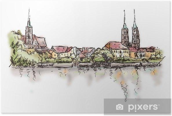 Plakat Breslau-Wrocław - Tematy