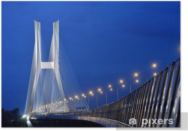 Plakát Bridge at Dusk - Témata