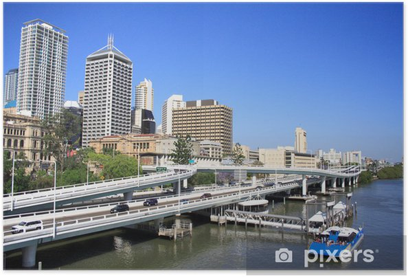 Plakát Brisbane City - Oceánie