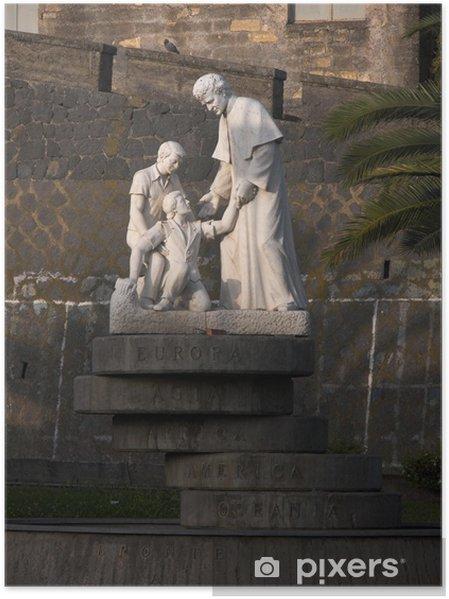 Plakát Bronte Statua San Giovanni Bosco - Památky