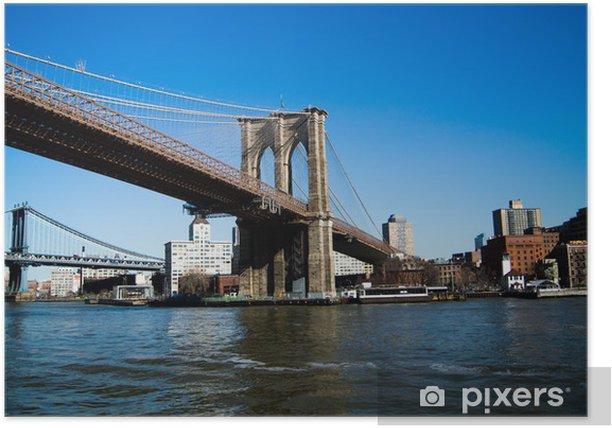 Plakat Brooklyn Bridge - Brooklyn Bridge