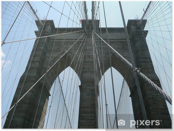 Plakat Brooklyn Bridge - Criteo