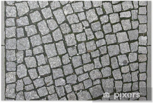 Plakat Brukowiec chodnik - Tileable Tekstury - Tekstury