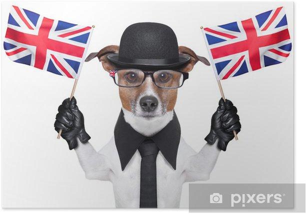 Plakat Brytyjski pies - Europa