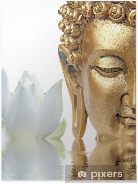 Plakat Budda Lotos - Buddyzm