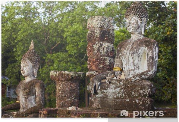 Plakat Budda - Azja