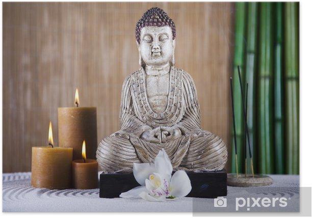 Plakát Buddha se svíčkou - Témata