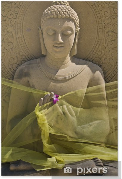 Plakát Buddha - Asie