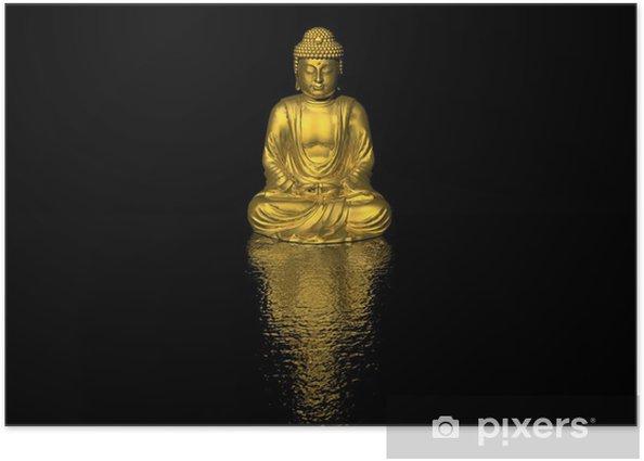 Plakát Buddha - Styly