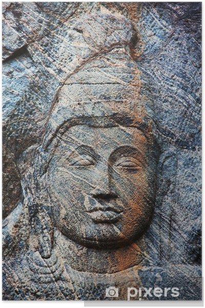 Plakát Buddhistický chrám na Srí Lance - Náboženství