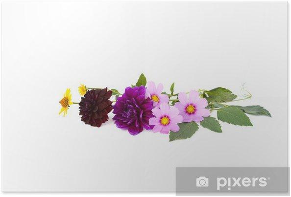 Plakat Bukiet - Kwiaty