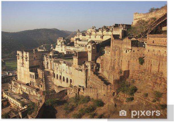 Plakat Bundi Palace, Indie - Azja