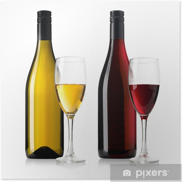 Plakat Butelek wina - Tematy