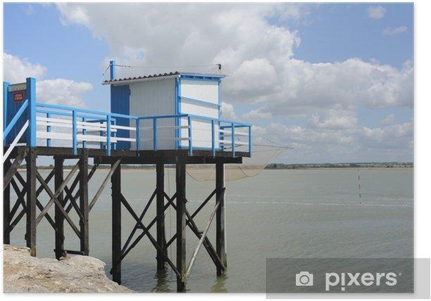 Plakát Cabane de pêcheur sur la Gironde 2 - Outdoorové sporty