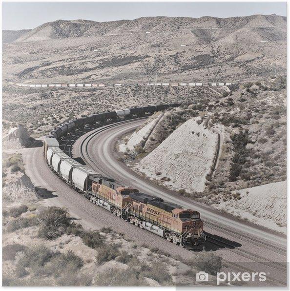 Plakat Cajon Pass - Przemysł ciężki