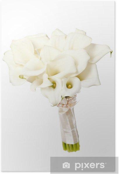 Plakat Calla kwiaty - Kwiaty