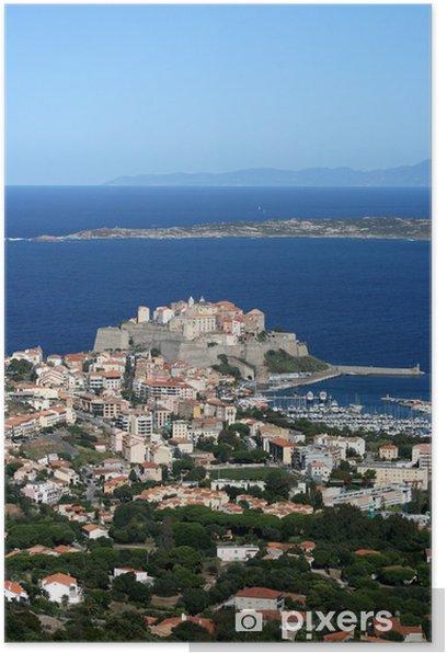 Plakát Calvi, balagne, corse, korsika - Evropa