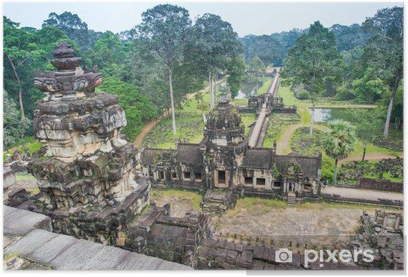 Plakat Cambodia Angkor Thom Angkor - Azja