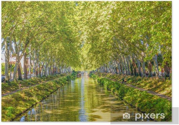 Plakát Canal du Midi. Francie. - Témata