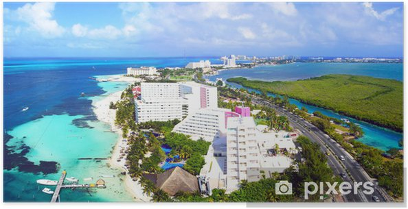 Plakát Cancun - Amerika