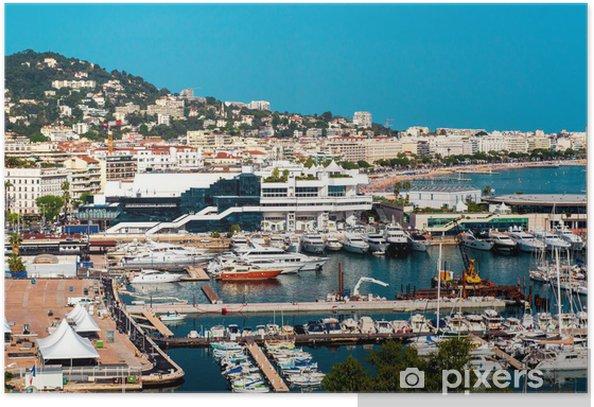 Plakát Cannes, Francie - Infrastruktura