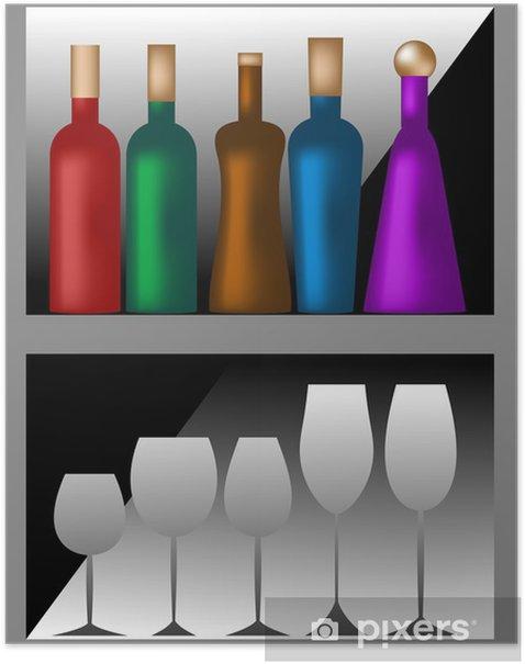 Plakát Cantinetta - Alkohol