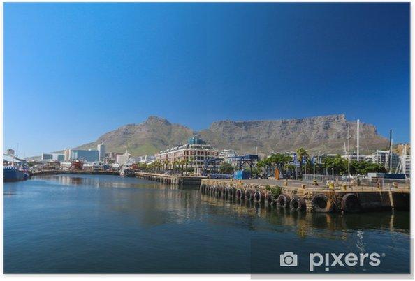 Plakát Cape Town Harbour - Afrika