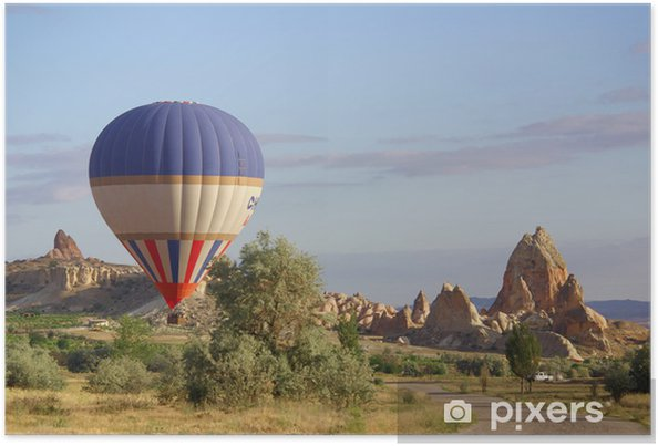 Plakát Cappadocia, Turecko - Asie