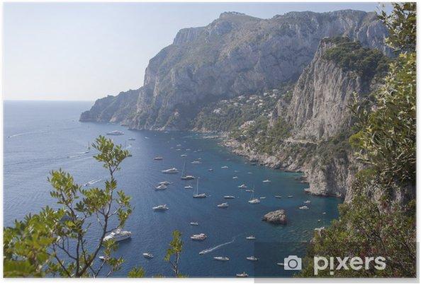 Plakát Capri - Evropa