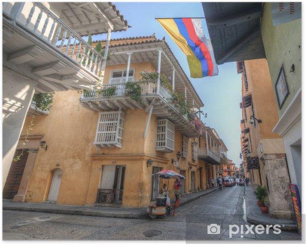 Plakat Cartagena - Krajobrazy