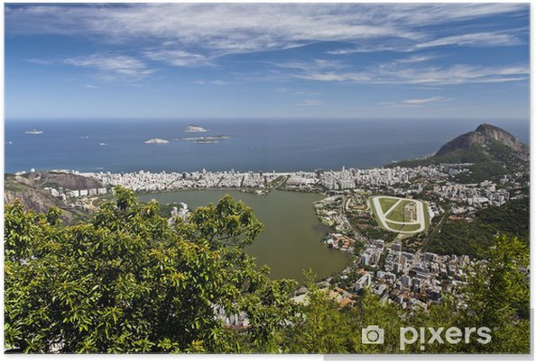 Plakát Cartolina di Rio de Janeiro - Témata