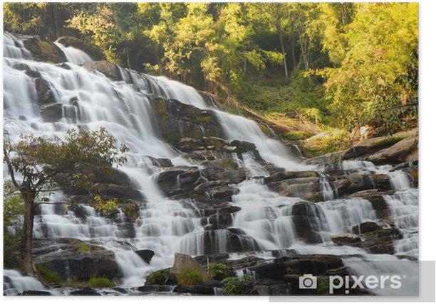 Plakat Cascade Waterfall - Woda