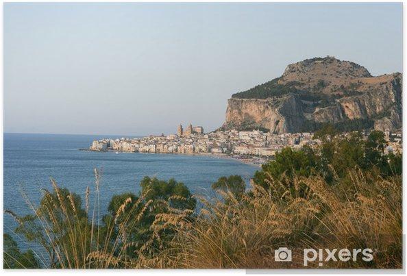 Plakát Cefalù Sicilia - Prázdniny